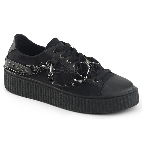 c27af6d526 Shoes | Mens Metal Chain Lace Up Sneaker Punk Gothic | Poshmark